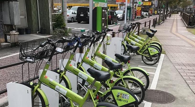 鹿児島市のシェアサイクル