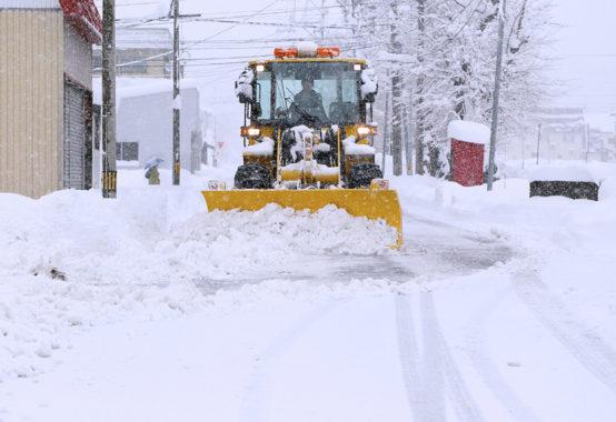 秋田市の除雪